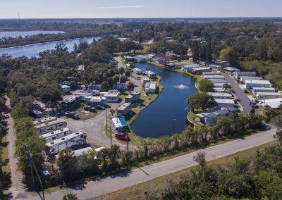 Campground layout, Ruskin, FL