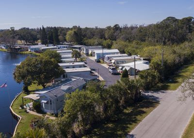 Park models and campsites for rent on Gulf Coast
