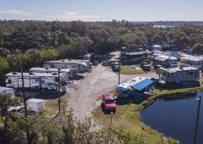 Big Rig friendly campground on Florida's Gulf Coast