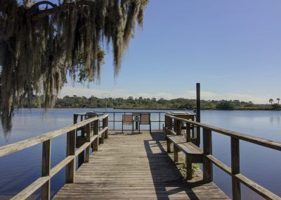 Campground with River Pier, Florida