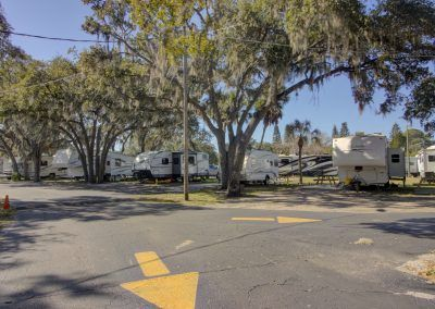 campground roads and campsites
