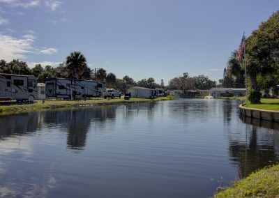 Lake at RV Resort